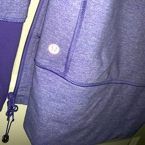 Periwinkle lululemon zip up